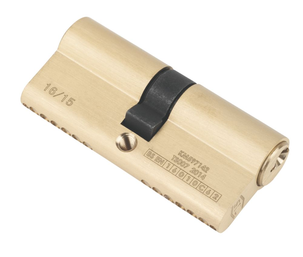 Image of Smith & Locke 1* 6-Pin Double Euro Cylinder Lock 35-35