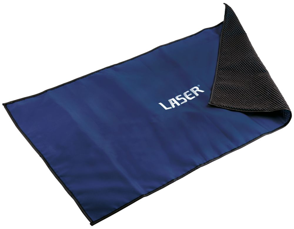 Image of Laser Protective Vehicle Wing Cover Blue 790 x 450mm Blue