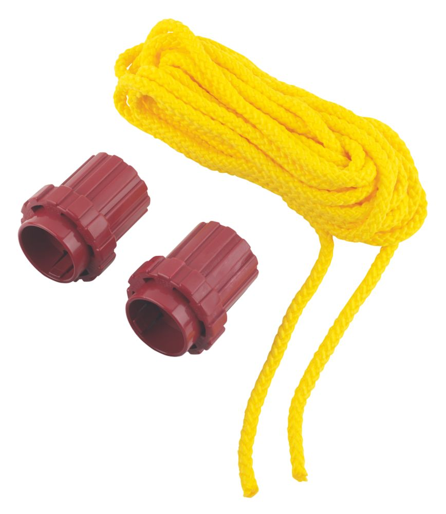 Image of What Knot Replacement Tools & 7m Yellow Rope 70mm x 60mm 3 Piece Set