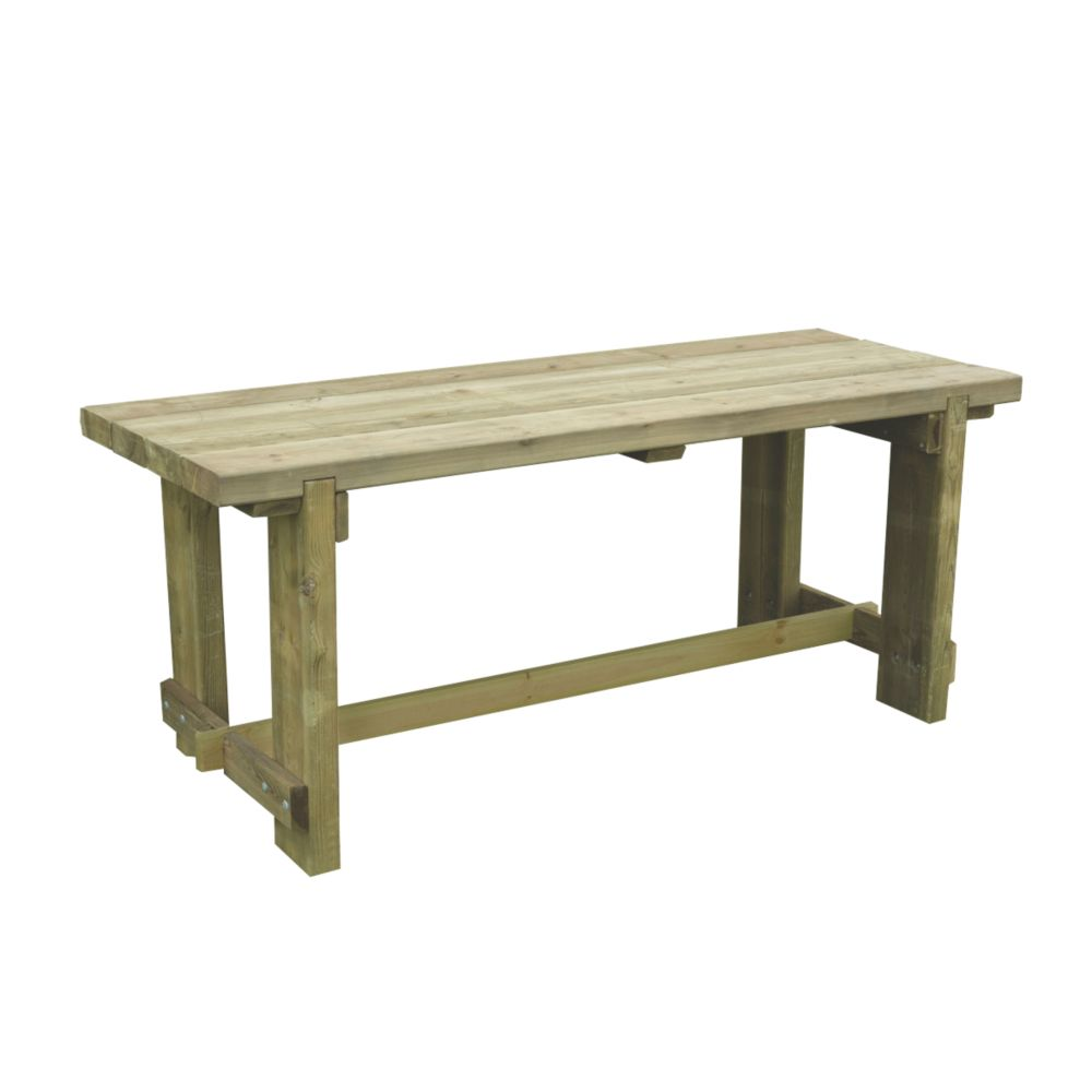 Image of Forest Refectory Garden Table 1800 x 700 x 750mm