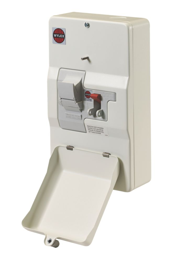 Image of Wylex 100A Domestic Switch Fuse Unit