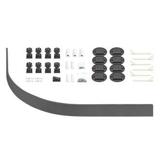Image of The Shower Tray Company Universal Quad Easy Plumb Kit Grey 34 Pcs