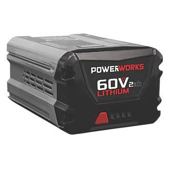 Image of Powerworks P60B2 2900433 60V 2.0Ah Li-Ion Battery