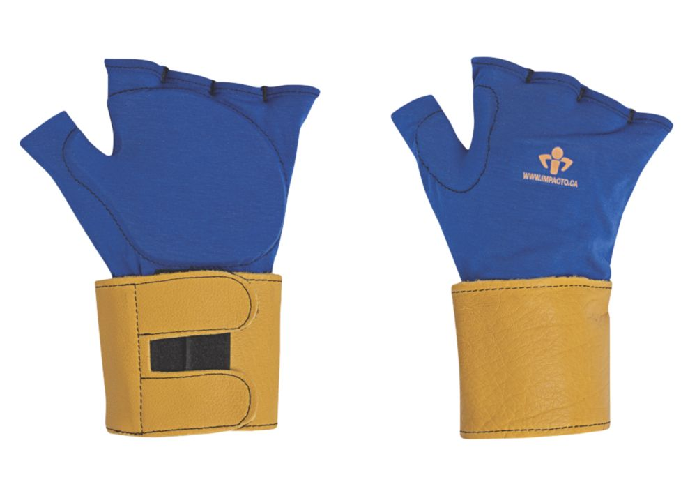 Image of Impacto 714-20 Anti-Impact Glove Liners & Wrist Supports