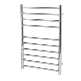 Image of Reina Luna Flat Ladder Towel Radiator 430 x 600mm Stainless Steel