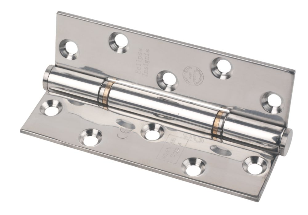 Image of Eclipse Grade 14 Insignia Thrust Bearing Hinge Pol. Steel 127 x 76mm 2 Pack