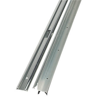 Image of Stormguard 2-Part Trimline Threshold Polished Aluminium 914mm
