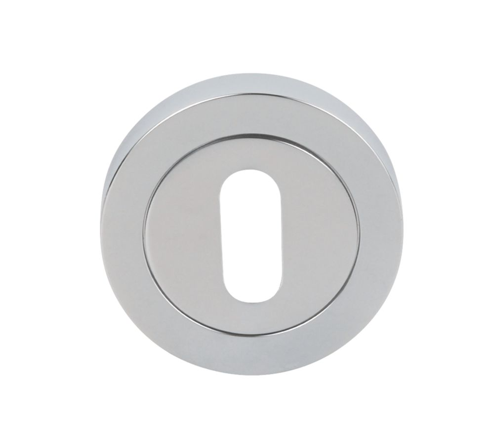 Image of Carlisle Brass Escutcheon Chrome-Plated 50mm