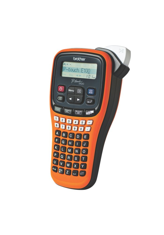 Image of Brother PT-E100 Hand-Held Label Printer