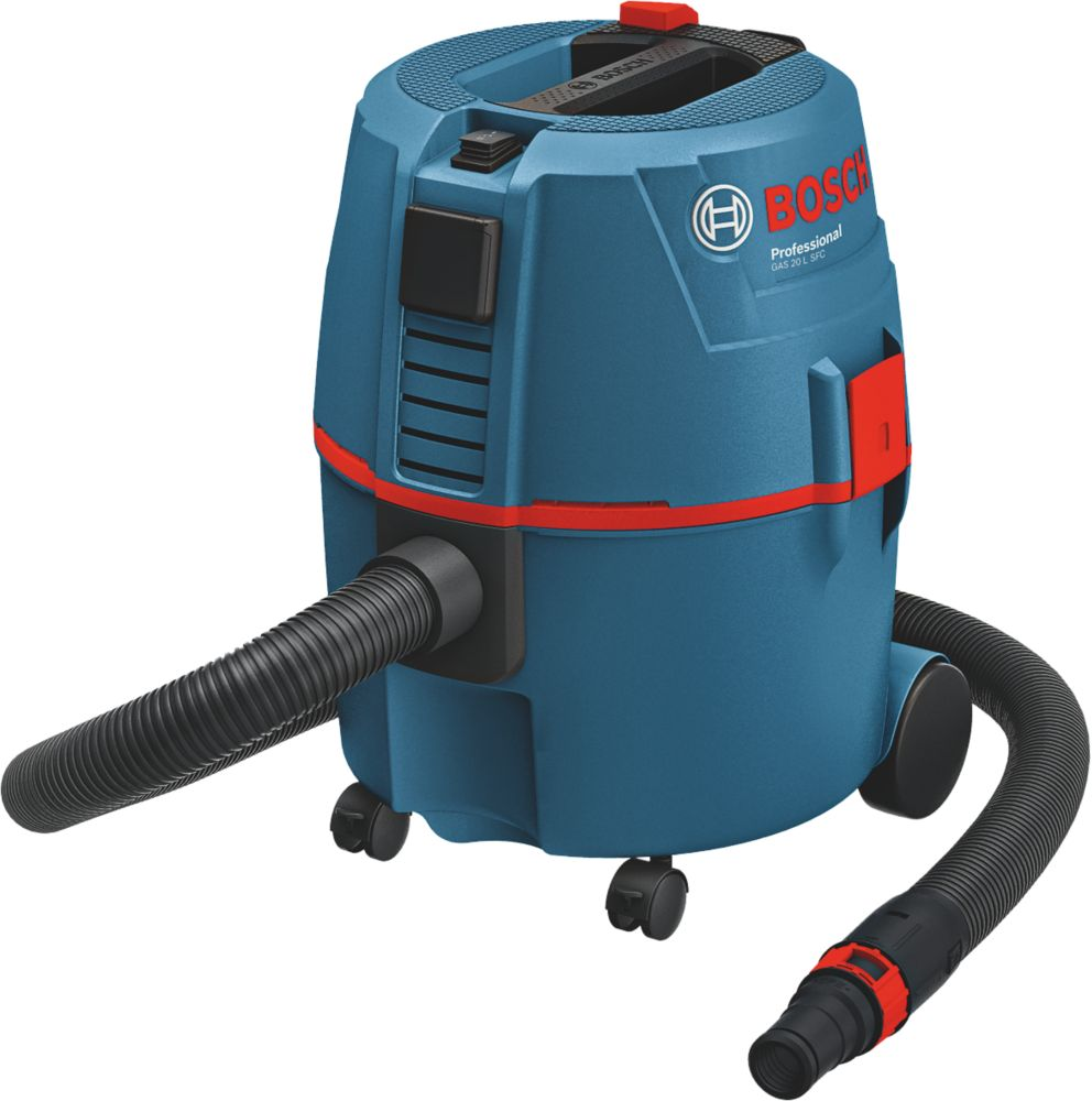Image of Bosch GAS20L SFC 62Ltr/sec Wet & Dry Dust Extractor 230V