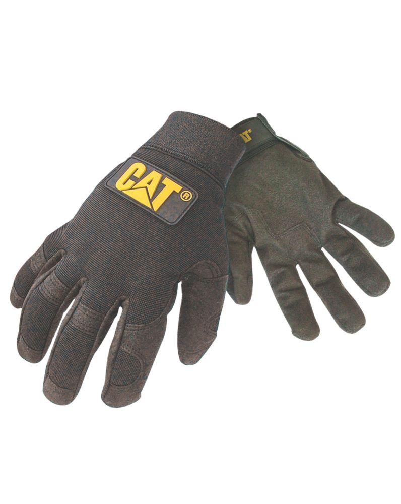 Image of CAT Lightweight Mechanic Lightweight Mechanic's Gloves Black Large