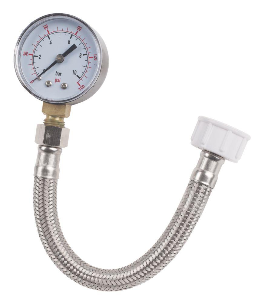 Image of Rothenberger Eco Water Pressure Test Gauge 10bar