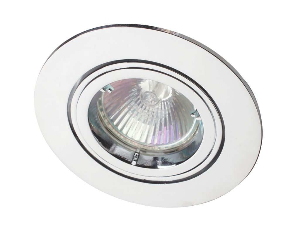 Image of Robus Adjustable Downlight Polished Chrome 240V