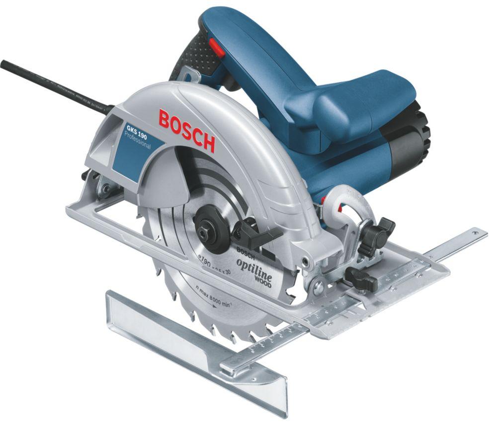 Image of Bosch GKS 190 1250W 190mm Professional Circular Saw 110V