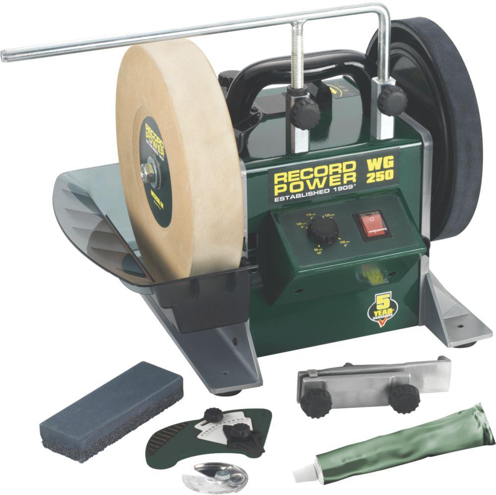 Image of Record Power WG250 250mm Whetstone Bench Grinder 230V