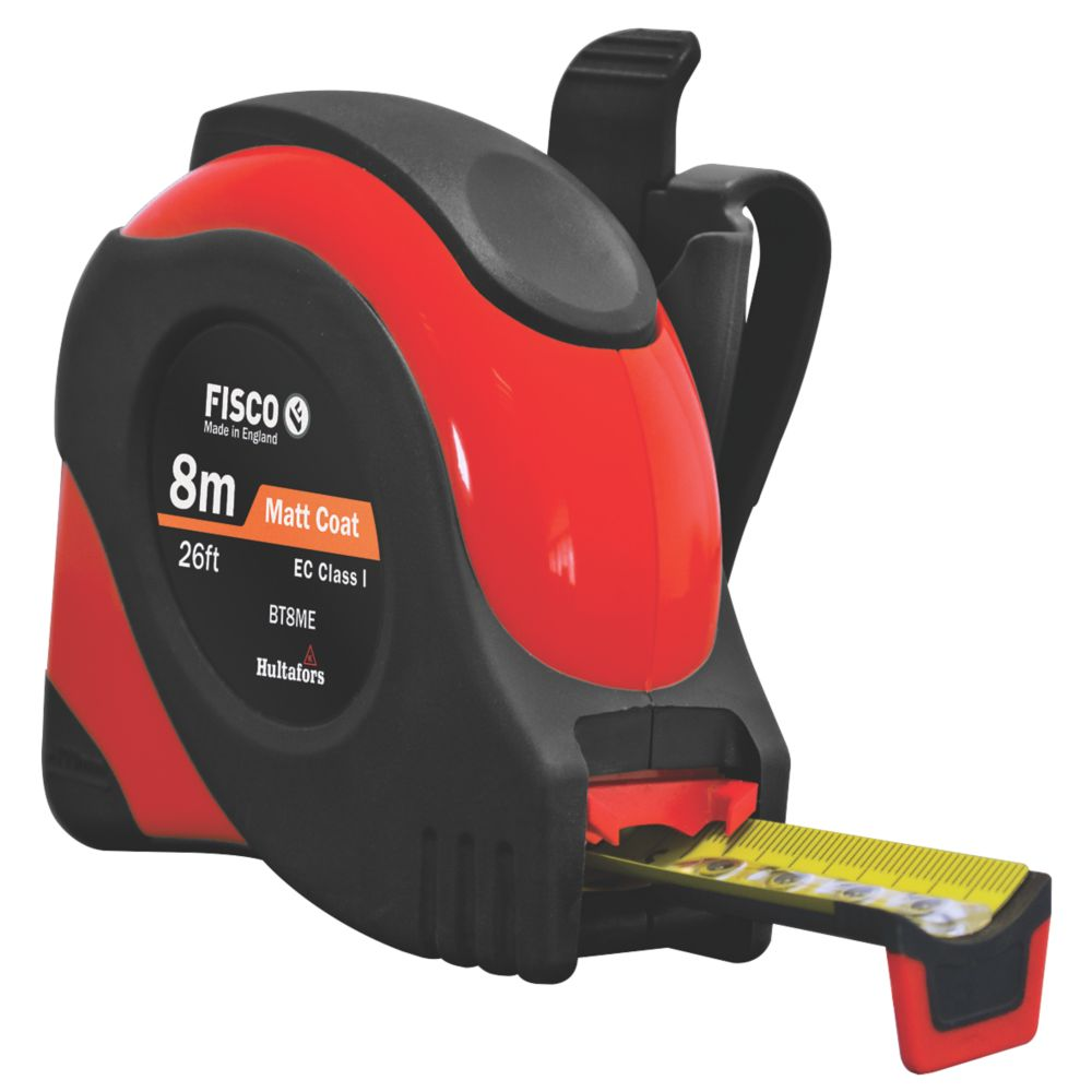 Image of Fisco Big T Tape Measure 8m x 16mm