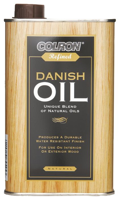 Image of Ronseal Refined Danish Oil Natural 500ml