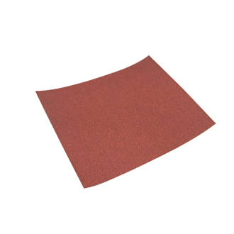 Image of Titan Hand Sanding Sheets Unpunched 280 x 230mm 60 Grit 10 Pack