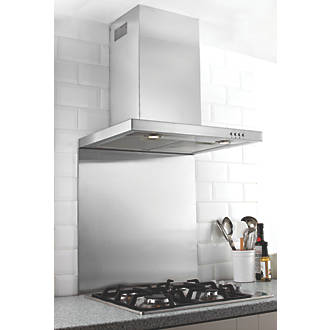 Image of Hafele Stainless Steel Catering Grade Splashback 600 x 750 x 8mm