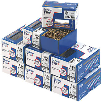 Image of Screw-Tite 2 PZ Double Self-Countersunk Trade Pack 1200 Pcs