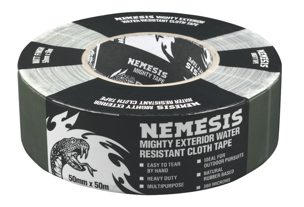 Image of Nemesis Cloth Tape 76 Mesh Woodland Green 50mm x 50m