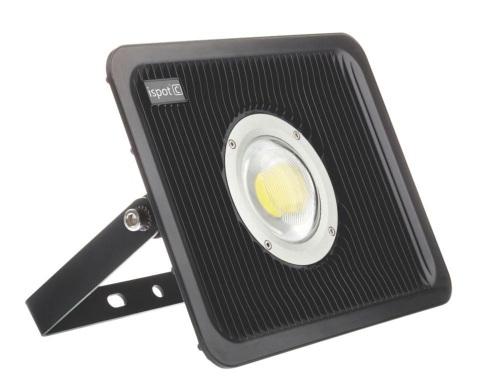 Image of Brackenheath ispot C Driverless LED Floodlight 30W Black