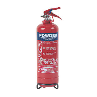 Image of Firemax Dry Powder Fire Extinguisher 1kg