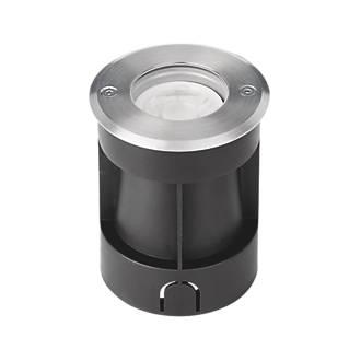 Image of Enlite G-Lite Recessed Ground Light Black / Stainless Steel 100-240V