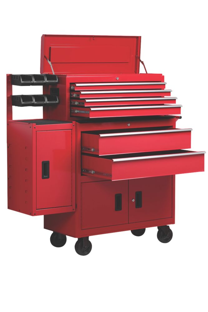 Image of Hilka Pro-Craft 6-Drawer Extra Wide Combination Unit