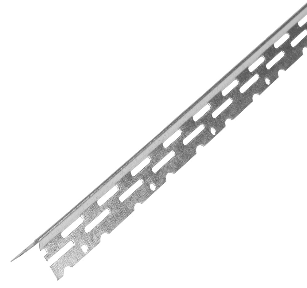 Image of Simpson Strong-Tie Galvanised Thin Coat Angle Bead 2-3mm x 2.4m 10 Pack