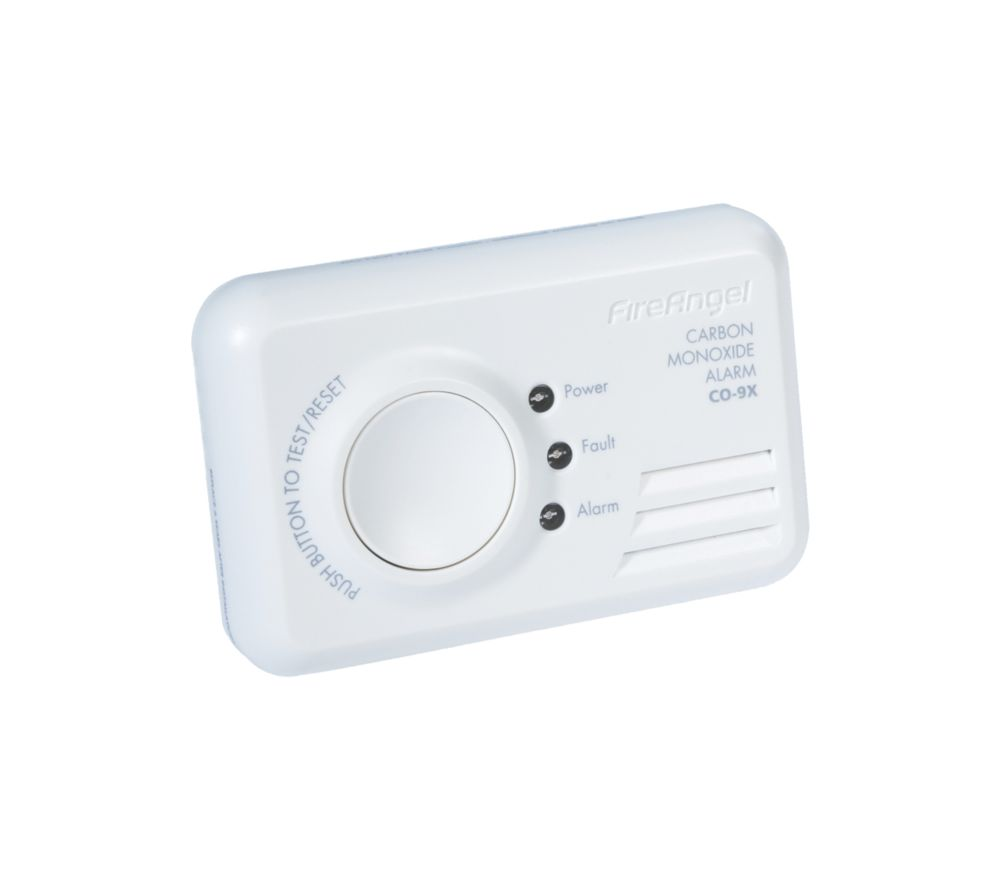 Image of FireAngel CO-9X 7 Year Long Life CO Alarm