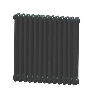 Image of Acova 3-Column Horizontal Radiator 600 x 628mm Volcanic