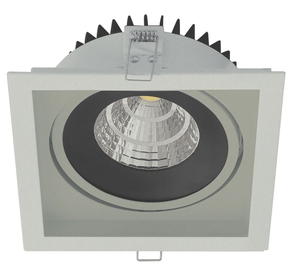 Image of Luceco Square Gimbal Frame Downlight Bezel