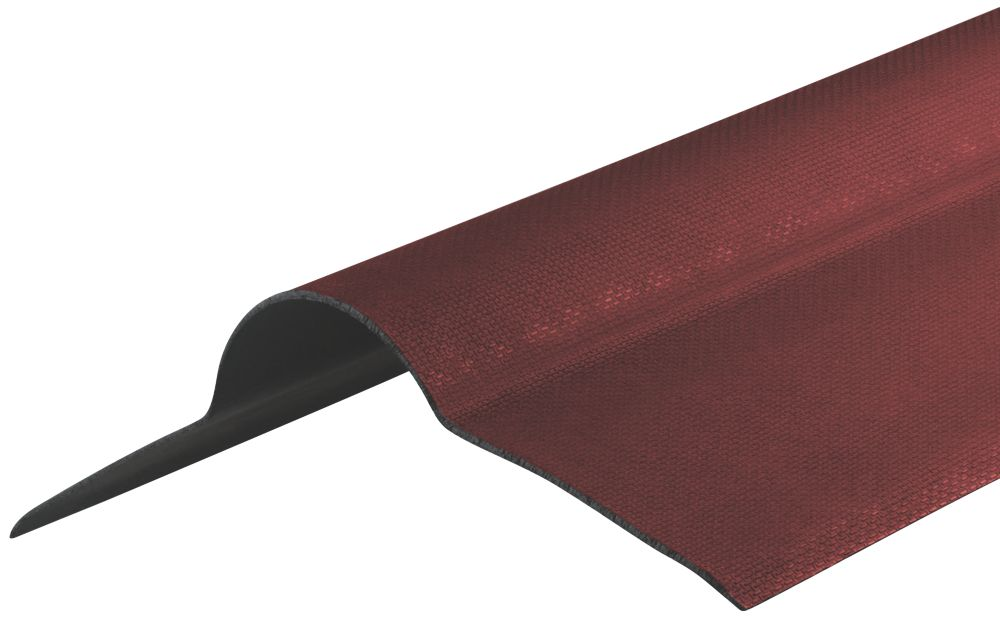 Image of Corrapol-BT Corrugated Bitumen Ridge Red 950 x 420mm
