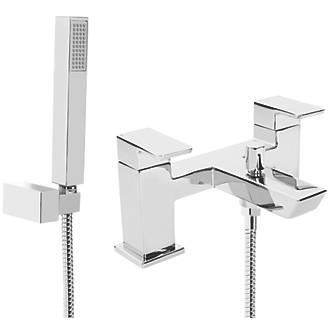Image of Bristan Cobalt Deck-Mounted Bath Shower Mixer