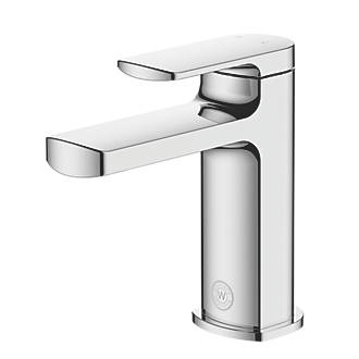 Image of Watersmith Heritage Clyde Basin Mono Mixer Tap with Clicker Waste