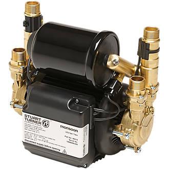 Image of Stuart Turner Monsoon Universal Regenerative Twin Shower Pump 1.5bar