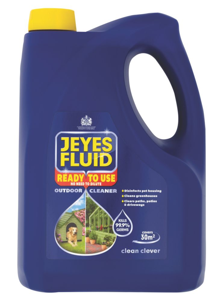 Image of Jeyes Multipurpose Outdoor Disinfectant 4Ltr