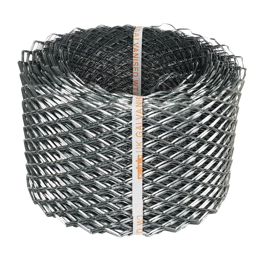 Image of Sabrefix Brick Reinforcing Coil Galvanised DX275 175mm x 2000mm