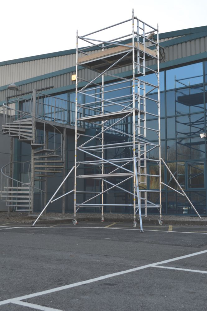 Image of Lyte SF25DW57 Helix Double Width Industrial Tower 5.7m