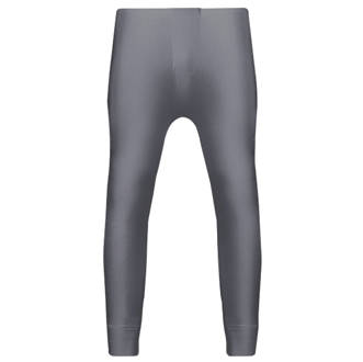 "Image of Workforce Thermal Baselayer Trousers Grey Medium 33-35"" W 29"" L"