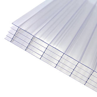 Image of Axiome Fivewall Polycarbonate Sheet Clear 1000 x 25 x 2000mm