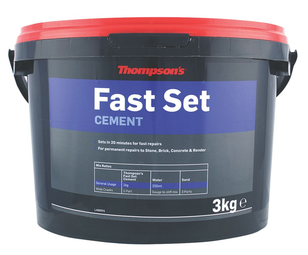 Image of Thompsons Fast Set Cement Grey 3kg
