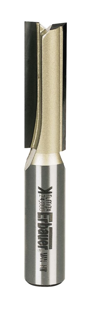 """Image of Ebauer Straight Router Cutter """" Shank 12.7 x 38.1mm"""