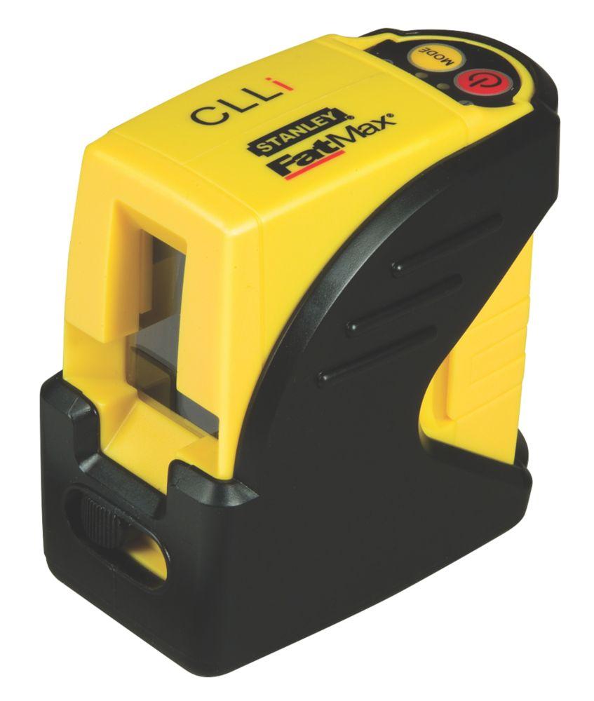 Image of Stanley FatMax CLLI Self-Levelling Cross Line Laser & Mounting Pole Kit