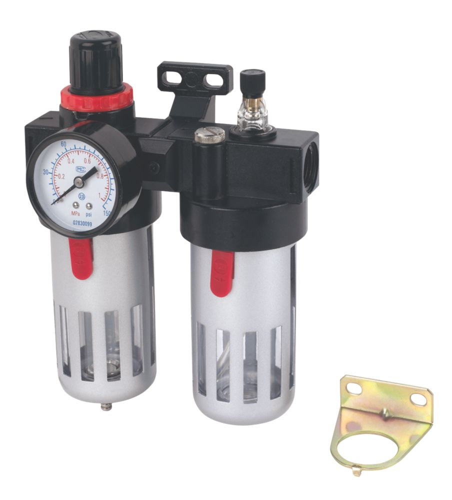 "Image of Air Tool Filter Regulator & Lubricator """
