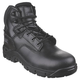 Image of Magnum Sitemaster Safety Boots Black Size 8