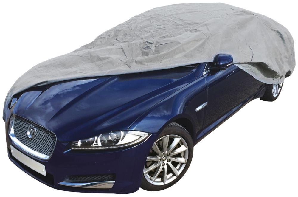 Image of Streetwize Full Car Cover Grey