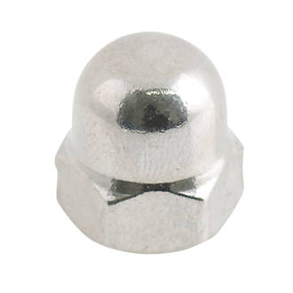 Image of Easyfix A2 Stainless Steel Dome Nuts M8 100 Pack