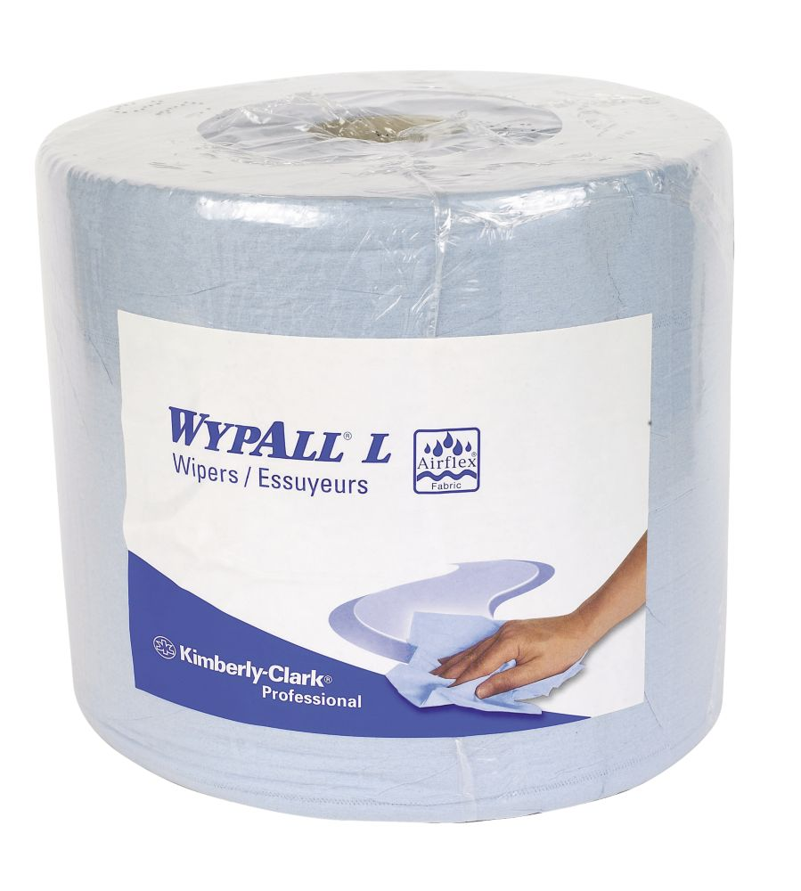 Image of Kimberly-Clark Professional Wypall L30 Wipers Roll Blue